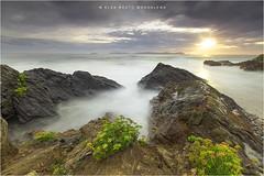 Bascuas..... (PITUSA 2) Tags: naturaleza atardecer major mar paisaje galicia cielo pontevedra rocas sanxenxo elsabustomagdalena pitusa2playa