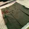Dark olive custom kilt going to ID. Http://www.altkilt.com/custom