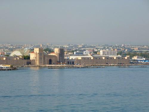 Arrivée  Bari depuis la Grèce