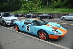 Ford GT Heritage (Andrew Waddell Photography) Tags: show car connecticut greenwich spotted supercar carshow spotting greenwich15