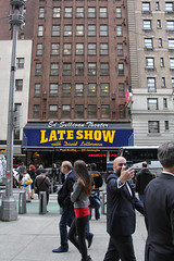 Good night, Late Show (DC Products) Tags: newyorkcity newyork manhattan broadway lateshowwithdavidletterman edsullivantheater 2015 aphotoaday project365