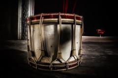 The drum of Theatre Bizzar (Der Hamlet) Tags: theaterbizzar urbex abandoned decay lostplace verlassen marode stage bühne trommel drum shadowandlight lichtundschatten forgottensound