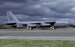 B-52H 61-0016 LA EGVA 0599 CLOFTING P (Chris Lofting) Tags: 610016 la b52 b52h boeing fairford egva