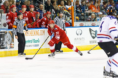 "Missouri Mavericks vs. Allen Americans, March 3, 2017, Silverstein Eye Centers Arena, Independence, Missouri.  Photo: John Howe / Howe Creative Photography • <a style=""font-size:0.8em;"" href=""http://www.flickr.com/photos/134016632@N02/32430578744/"" target=""_blank"">View on Flickr</a>"