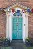 104/117 Torquoise (Jamarem) Tags: door vertical torquoise marketbosworth leicestershire 117picturesin2017 olympus bunting