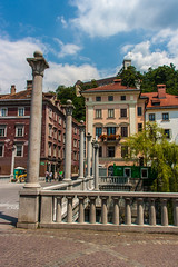 IMG_9800 (ludo.depotter) Tags: kasteel ljubljana ljubljanica slovenië oudestad schoenmakersbrug