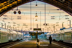 Train Station - Le Havre, France (Bill Adams) Tags: explore a6500 france lehavre normandie normandy train trainstation uppernormandy canon14mmf28lusm metabones