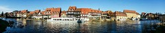 Little Venice (tewhiufoto) Tags: tewhiufoto samsung bamberg flickr germany samsunggalaxy panorama littlevenice upperfranconia river regnitz confluence town unescoworldheritagesite german riverregnitz rivermain