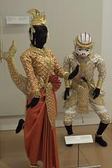 Sovann Maacha costume, Hanuman costume (Distraction Limited) Tags: musicalinstrumentmuseum mim musicalinstrumentmuseums museums phoenix scottsdale arizona musicalinstruments instruments sovannmaachacostume sovannmaacha hanumancostume hanuman ramayana reamker cambodia asiaandoceaniagallery mim20170302