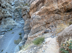 """The """"Goat Path"""" Bypassing a Dry Fall (Jeffrey Sullivan) Tags: california copyright usa jeff nature landscape photography photo dangerous exposure united canyon climbing states sullivan slot iphone iphone4"""