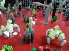 Demo Team - White (Red_Robot_XIII) Tags: game mobile fun demo lego frame zero mecha gameboard microscale mfz mf0