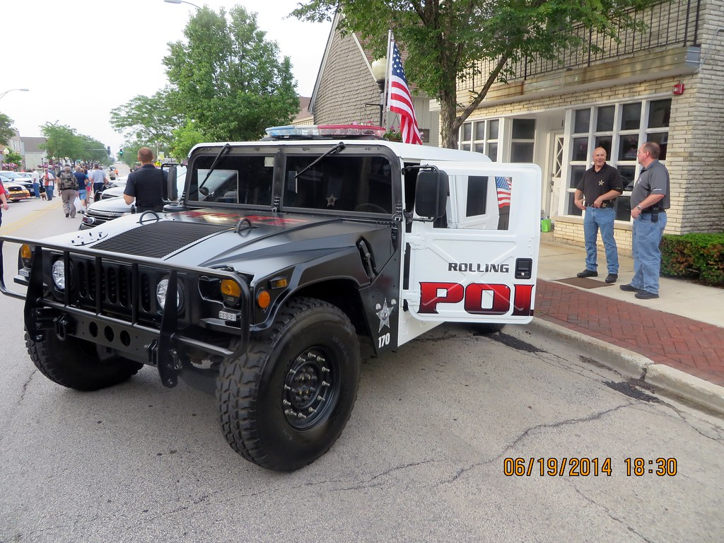 Rolling Meadows Police Car Show