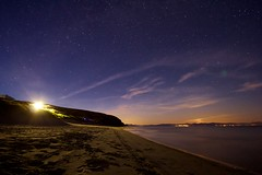 The Warren Beach, Abersoch (antmcg12) Tags: longexposure sea sky beach night stars sand long exposure slow slowshutter shutter warren peninsula abersoch llanbedrog starry the llyn