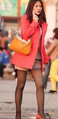 2014649575175432 (Steven pan 8) Tags: girls sexy girl beautiful beauty asian pretty legs skirt hotgirls pantyhose asiangirl hotgirl chinesegirl asianbeauty