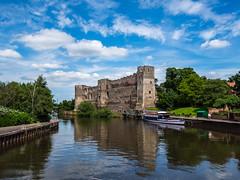 Newark Castle by the River Trent (TrekSnappy) Tags: england walking local newark nottinghamshire englishcountryside m43 gh3 farndon olympusdigital balderton ng24 micro43 microfourthirds socialhiking lumixgh3