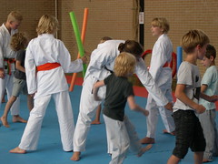"zomerspelen 2013 karate clinic • <a style=""font-size:0.8em;"" href=""http://www.flickr.com/photos/125345099@N08/14384102876/"" target=""_blank"">View on Flickr</a>"