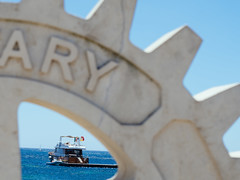 (FriendFisherman) Tags: italien sea italy boot nikon meer perspektive sizilien mittelmeer d7000