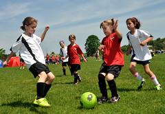 soccer (greenelent) Tags: girls people sports kids mi michigan soccer photoaday 365 traversecity girlssoccer futball