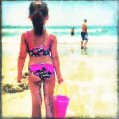 She Sells Sea Shells (Odd American) Tags: summer painterly beach glaze iphone surfsidebeach iphoneography phototoaster