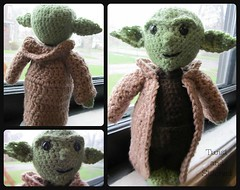 Jedi Master Yoda Amigurumi Pattern : The Worlds most recently posted photos of amigurumi and ...