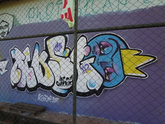 Cu Azul - Valparaso - GO (MUSGOne) Tags: streetart musgo persona graffiti freestyle letters urbanart latex hiphop rap bomb spraycan grafite throwup tipography fatcap rolinho musgon