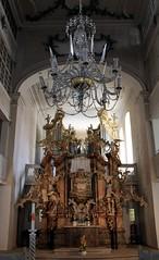 (:Linda:) Tags: germany town kirche thuringia altar organ chandelier rococo kronleuchter rokoko suhl
