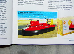 Diecast Collector Magazine August 2014 Issue 202 With A Look At Top Die- Cast Hovercraft Vintage Models Article By Eric Bryan: Dinky Toys SRN6 Hovercraft No. 290 1971 Diorama - 4 Of 9 (Kelvin64) Tags: look by vintage magazine toys 1971 eric die with top no models august bryan cast article issue 202 diorama collector hovercraft dinky diecast 290 2014 a at srn6