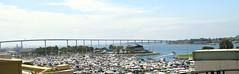 Coronado Bridge, San Diego, CA, USA. (SETIANI LEON) Tags: california ca bridge usa america canon eos bay san unitedstates sandiego united diego 7d states coronado unis californie coronadobridge etatsunis etats amerique