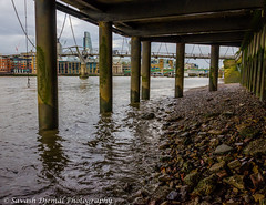 DSC_0129.jpg (Sav's Photo Gallery) Tags: city uk london beach river cityscape riverthames bankside sandybeach d7000 savash