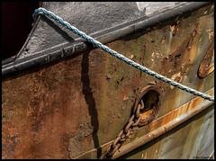 rusty boat....... (bevscwelsh) Tags: scotland boat rusty dumfriesgalloway kingholmquay olympus1250 olympusem5