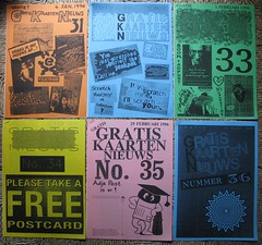 GKN free magazine 31-36 (streamer020nl) Tags: cards 1996 1993 postcards photocopy 1997 gratis 1998 1995 1994 a4 boomerang nimit nieuws kaarten freecards nieuwsbrief photocopied gocards gkn adpost schoolcards collegecards pubcards studycardscultcards