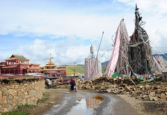 Monastery of Dungkar Gön, Tibet 2013 (reurinkjan) Tags: 2013 བོད་ལྗོངས། ©janreurink tibetanplateauབོད་མཐོ་སྒང་bötogang tibetབོད tibetབོདbod བོད་ཡུལ་böyül སྒང་པ་བོདgangpawö wholeoftibetབོད་ལྗོངས་ཡོངས་ལbönjongyongla tibetthenorthernlandབྱང་ཕྱགས་བོདjangchakwö tibetགངས་རི་ར་བའི་སྐོར་བའི་ཞིང་ཁམསgangsrirabaiskorbaizhingkhamsgangrirawékorwézhingkham khamཁམས།easterntibet nyingmaredhatsectརྙིང་མrnyingma tibetancientnameབོད་ཁ་བbodkhababökhawa boundfortibetབོད་བསྐྱོདbodbskyodbökyö ༢༠༡༣ khamཁམས་བོད khamsbodkhamwö sertalགསེར་ཐར།countyserthar gogentang dungkargön དུང་དཀར་དགོན། dungdkardgon