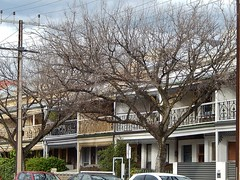 Winter Terrraces (mikecogh) Tags: winter heritage bare branches balconies adelaide cbd terracehomes