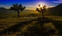 ...sunset in Vorarlberg...