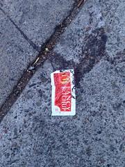 Ketchup (gruntso) Tags: ketchup mcdonalds flattened