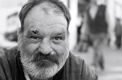 Jens (Tofubratwurst) Tags: street portrait people 50mm blackwhite pentax sigma leipzig menschen sw strase sigma50mmf14exdghsm tofubratwurst