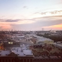 Крыши Петербурга... #roofs #spb #panorama