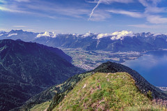 Lake Geneva and Rhone Valley (Bephep2010) Tags: lake alps schweiz switzerland see sony rhne valley alpen 16mm hdr ch lakegeneva vaud nex laclman genfersee caux rochersdenaye waadt photomatrix veytaux cantondevaud rhonetal sel16f28 nex6