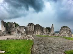 Kildrummy Castle (My TVC 15) Tags: travel history grass rain walking scotland aberdeenshire medieval wanderlust hills research biking fields gloom adventures archeology lumsden robertthebruce carvedstone castleruin kildrummycastle kildrummy 13thcenturyad samsunggalaxys3