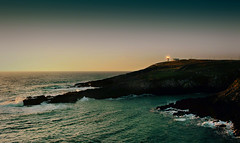 Dawn, Galley Head, West Cork, Ireland. (2c..) Tags: ireland light sea house west water dawn head mark cork best land galley 2c 2cireland