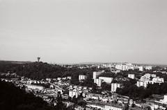 Cherbourg-Octeville, France - July 2014 (36mmatatime) Tags: blackandwhite france analog 35mm cityscape kodak 400tx cherbourg filmphotography av1