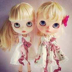 Constance et Angel in Jeds 123 dresses.