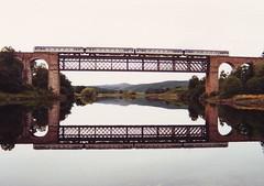 Mirror Image (ee20213) Tags: scotland br scotrail dmu invershin supersprinter class156