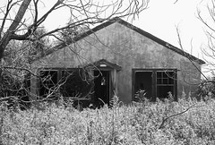 Back to Home (jmhouse) Tags: blackandwhite ghosttown abandonment ruraldecay causey