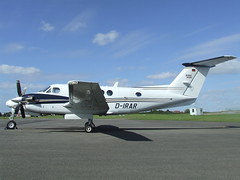 D-IRAR Beech Super King Air 200 (Aircaft @ Gloucestershire Airport By James) Tags: james airport king air super gloucestershire 200 beech lloyds egbj dirar