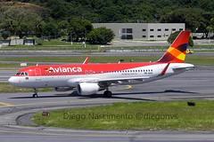PR-ONW Avianca Brasil Airbus A320-214(WL) - cn 6050 (Diegonvs) Tags: plane fly taxi aircraft aviation air jet aeroporto fir recife avião aviao aviação nordeste rec aviacao sbrf sbre