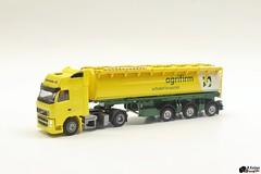 Promotoys welgro + AWM Volvo FH (Romar Keijser) Tags: scale trailer ho 187 wsi bulk awm trekker schaal herpa oplegger h0 welgro promotoys bulkoplegger