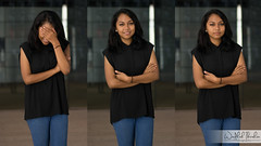 DSC_0126x (Wadhah Ibrahim) Tags: blue girl smile student pretty graduate malaysian utp triptychs
