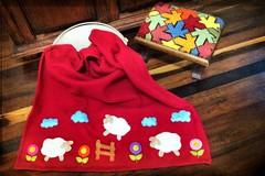 MaNTa  SofT CaRnEiRiNhOs (DoNa BoRbOlEtA. pAtCh) Tags: baby handmade application beb patchwork applique quiltlivre bordadomo mantasoft donaborboletapatchwork denyfonseca