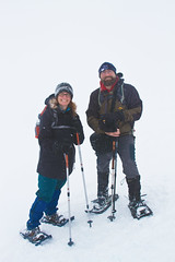 A Big White Out Behind Us, Cannot See Anything (jpmckenna - Tenquille Lake Up Next) Tags: winter snowshoe meetup lakes chain snowshoeing now southchilcotin mtbakernationalrecreationarea